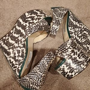 Authentic Jimmy Choo Wedge Shoes